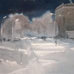 """""""Снег и фонари""""   """"Snow and lights"""""""